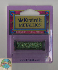 Kreinik Metallics - Very Fine #4 Forest Green 5982