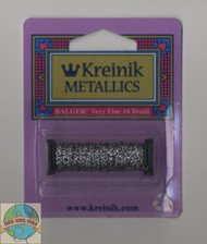 Kreinik Metallics - Very Fine #4 Pewter 019