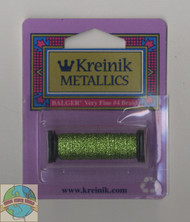 Kreinik Metallics - Very Fine #4 Chartreuse 015