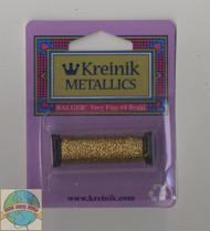 Kreinik Very Fine #4 Aztec Gold 202HL (Hi Lustre)