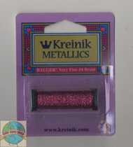 Kreinik Metallics - Very Fine #4 Fuschsia 024