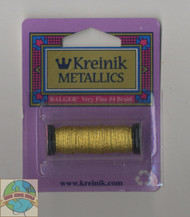 Kreinik Metallics - Very Fine #4 Japan Gold 002J