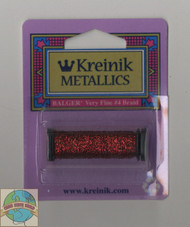 Kreinik Very Fine #4 Red (Hi Lustre) 003HL