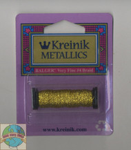 Kreinik Metallics - Very Fine #4 Citron 028