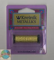 Kreinik Metallics - Very Fine #4 Topaz 3228