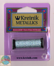 Kreinik Metallics - Very Fine #4 Blue Zircon 3214