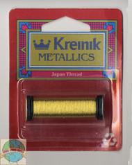 Kreinik Metallics - Super Fine #1 Japan Gold 002J