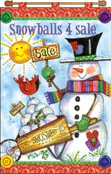 Design Works - Snowballs 4 Sale