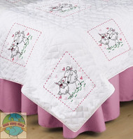 Design Works - Kissing Sheep Quilt Blocks (6)