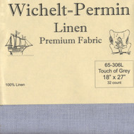 Wichelt - 32 Ct Touch of Grey Linen 18 x 27 in