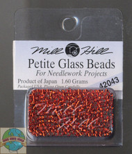 Mill Hill Petite Glass Beads 1.60g Rich Red