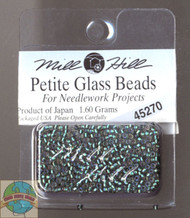 Mill Hill Petite Glass Beads 1.60g Bottle Green