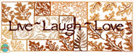 Design Works - Live, Laugh, Love