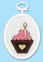 Janlynn Mini - Birthday Cupcake