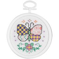 Janlynn Mini - Patchwork Butterfly