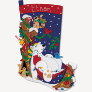 Dimensions - Winter Snooze Stocking