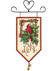 Dimensions - Cardinal Joy Mini Banner