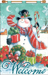 Design Works - Welcome Snowman