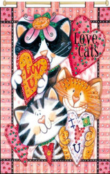 Design Works - Love Cats