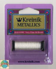 Kreinik Metallics - Very Fine #4 White 100
