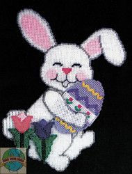 Design Works - Springtime Bunny Wall Hanging