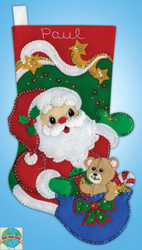 Design Works - Starlight Santa Stocking