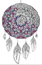 "Design Works - Zenbroidery Dreamcatcher 10"" x 16"""