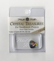 Mill Hill Crystal Treasures - Small Heart Vitrail Medium