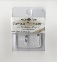 Mill Hill Crystal Treasures - Rondele Black Diamond AB