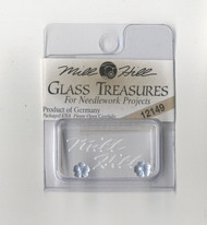 Mill Hill Glass Treasures - Very Petite Flower Matte Sapphire