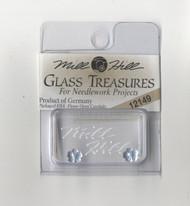 Mill Hill Glass Treasures - Very Petite Flower Matte Sapphire