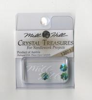 Mill Hill Crystal Treasures - Margarita Emerald AB