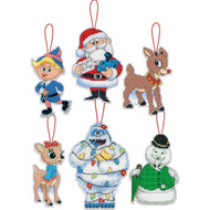 Dimensions - Rudolph Ornaments (Set of 6)