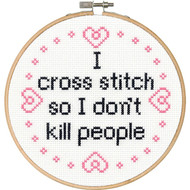 "Dimensions ""Say It!"" - I Cross Stitch"