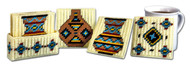 Design Works - Southwest Pots Coasters (7 Piece Set)