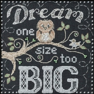 Mill Hill Chalkboard Quartet - Dream Big