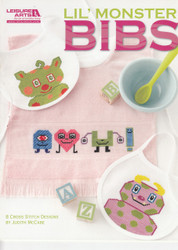 Leisure Arts - Lil Monster Bibs