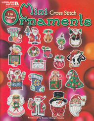 Leisure Arts - 116 Mini Cross Stitch Ornaments
