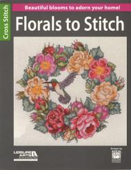 Leisure Arts - Florals to Stitch