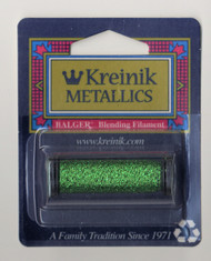 Kreinik Metallics Blending Filament - Green 008