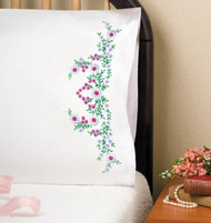 Design Works - Meadow Flowers Pillowcases (2)