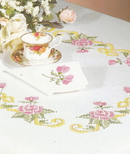 Design Works - Floral Scroll Napkins (4)
