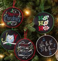 Plaid / Bucilla - Holly Jolly Ornaments