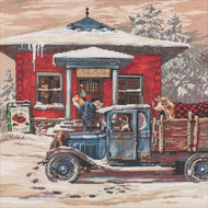 Heirloom Collection - Rural Post Office at Christmas