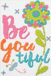 Plaid / Bucilla - My 1st Stitch - Be Youtiful