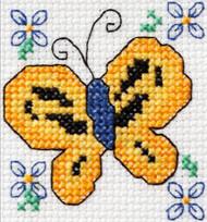Plaid / Bucilla - Sunny Butterfly