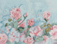 Plaid / Bucilla - Rose Romance