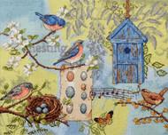 Plaid / Bucilla - Nesting Story