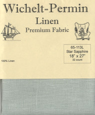 Wichelt - 32 Ct Beach Walk Linen 18 x 27 in