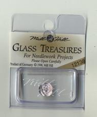 Mill Hill Glass Treasures - Petite Rose Matte Lilac